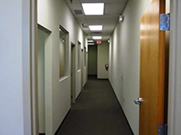 Office Hallway - J. Wayne Miller Company